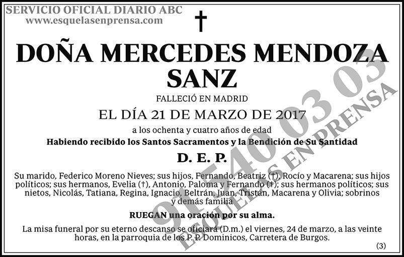 Mercedes Mendoza Sanz